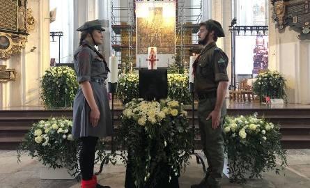 Pogrzeb Pawła Adamowicza w Bazylice Mariackiej w Gdańsku