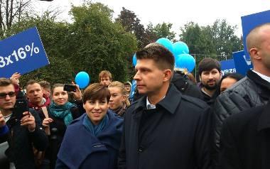 Polityczna awantura w Lublinie. Kukizowcy kontra Petru (ZDJĘCIA, WIDEO)