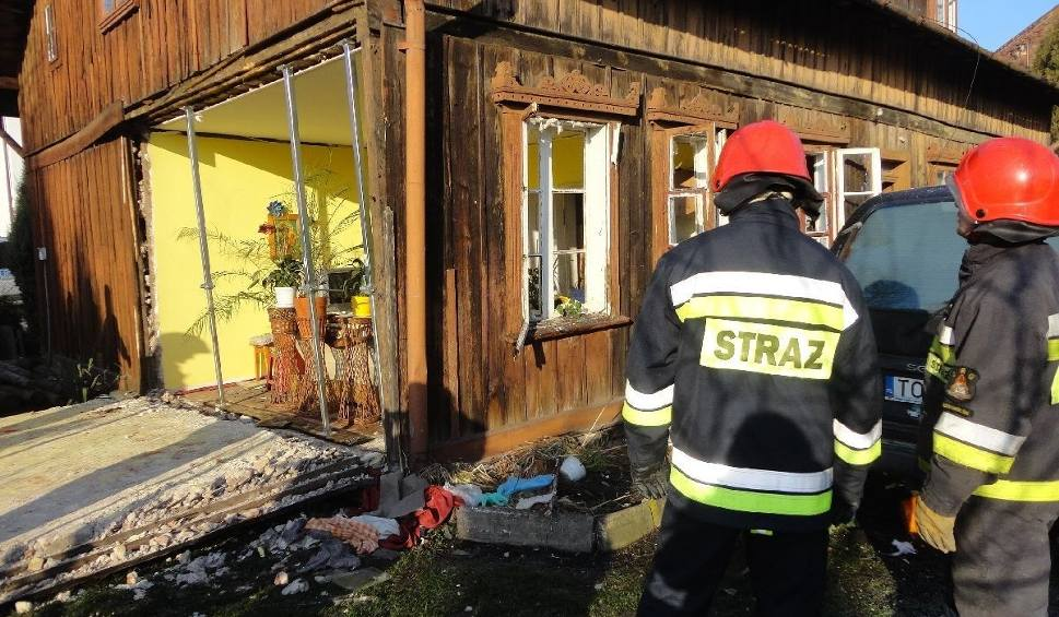 Film do artykułu: Wybuch gazu w Ostrowcu. Ranna kobieta