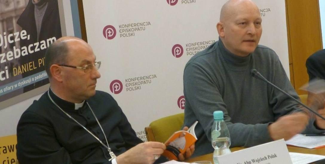 """Daniel Pittet, ofiara księdza pedofila i autor książki """"Ojcze, przebaczam ci, głos ofiary w dyskusji o pedofilii w Kościele oraz ks. abp. Wojciech Polak,"""