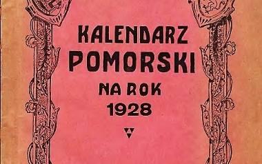 Okładka kalendarza z okresu międzywojennego