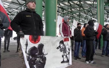 Protest przeciw obozowi dla uchodźców w Zwardoniu [ZDJĘCIA]