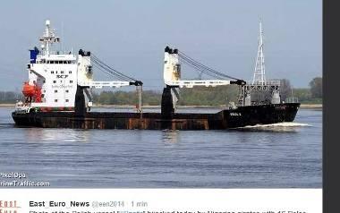 """Statek """"Szafir"""" z Polakami na pokładzie zaatakowany przez nigeryjskich piratów"""