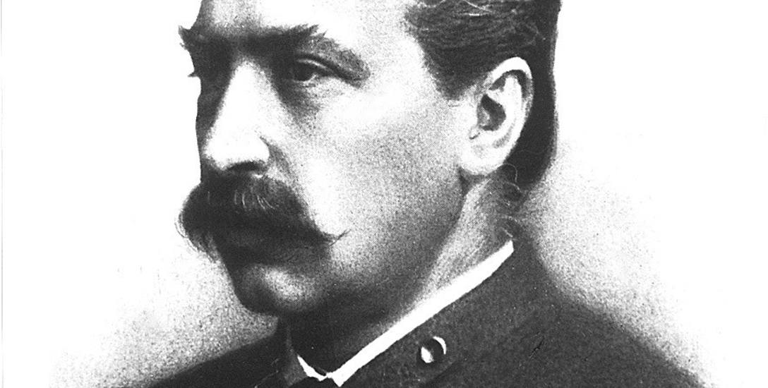 Gen. Edmund Różycki, dowódca z czasów powstania styczniowego