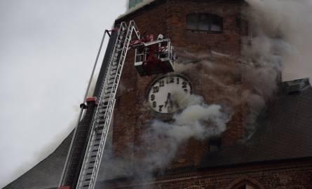 Pożar w katedrze wybuchł 1 lipca 2017 r.