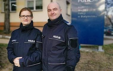 Anna i Marcin Naumowicz - policyjne małżeństwo