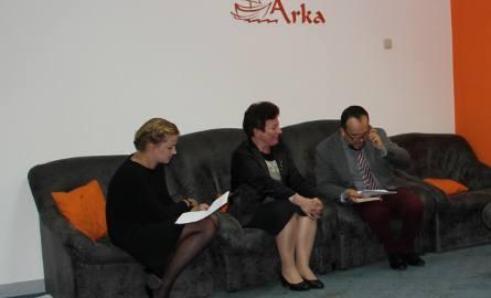 Gościem spotkania byla Maria Guzik,pisarka z Radomia.