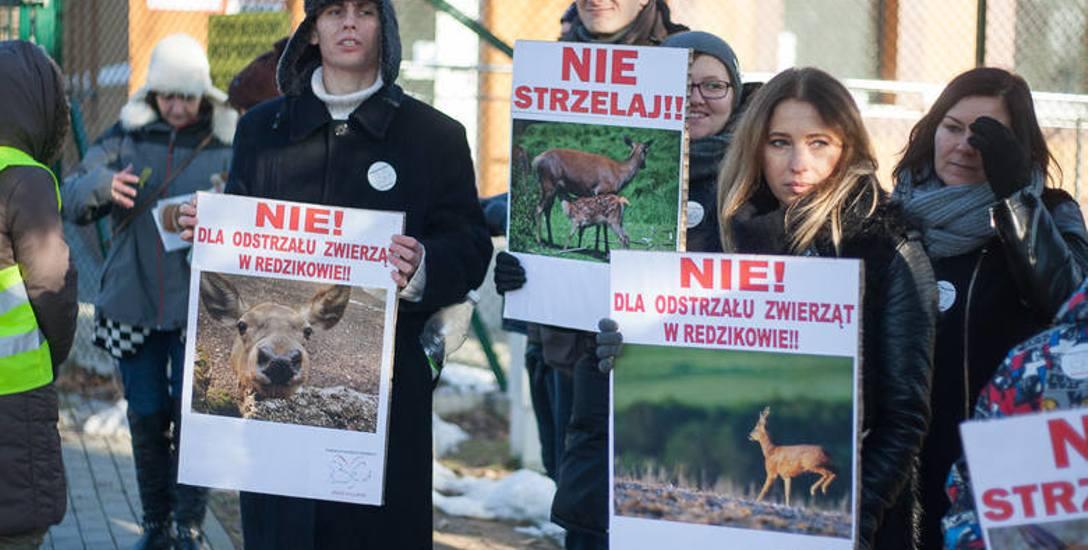 Obrońcy zwierząt zbierają podpisy pod petycją do prezydeta RP w sprawie dzikich zwierząt zamkniętych w bazie antyrakietowej.