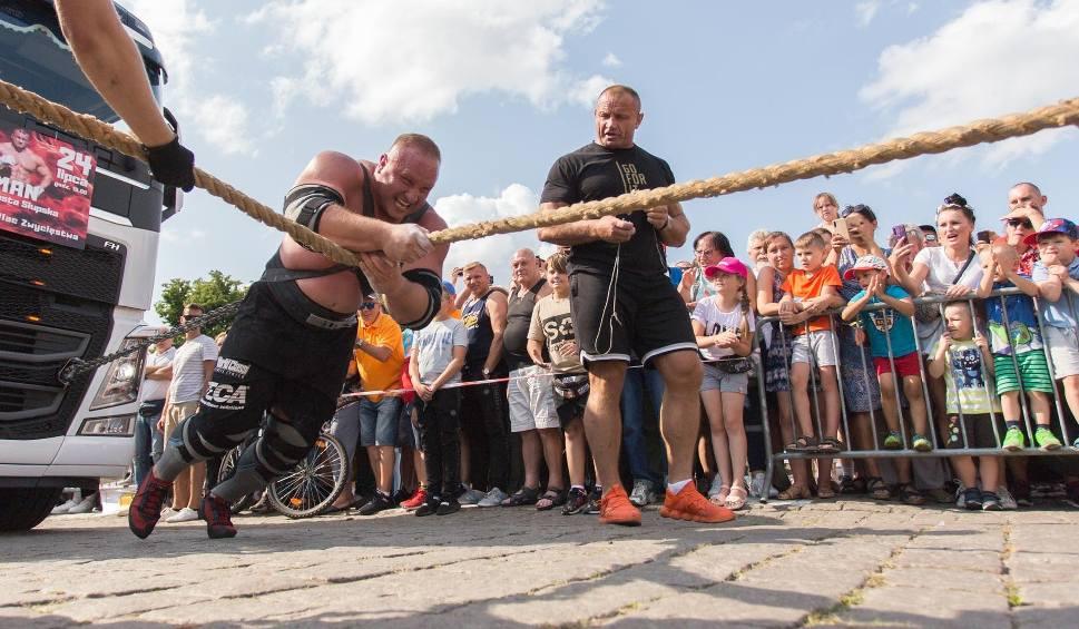 Film do artykułu: Puchar Strongman w Słupsku. Najsilniejsi z najsilniejszych zmierzyli się na placu Zwycięstwa [ZDJĘCIA, WIDEO]
