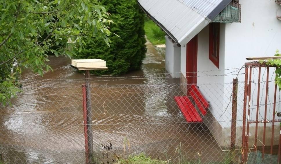 Film do artykułu: Stalowa Wola. Pękła rura kanalizacyjna średnicy dwóch metrów, brudna woda zalała ogródki działkowe (ZDJĘCIA)
