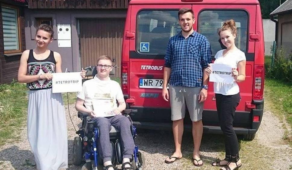 Film do artykułu: TetroTrip 2016. Niepełnosprawny radomianin wyjedzie w podróż przez 12 krajów Europy
