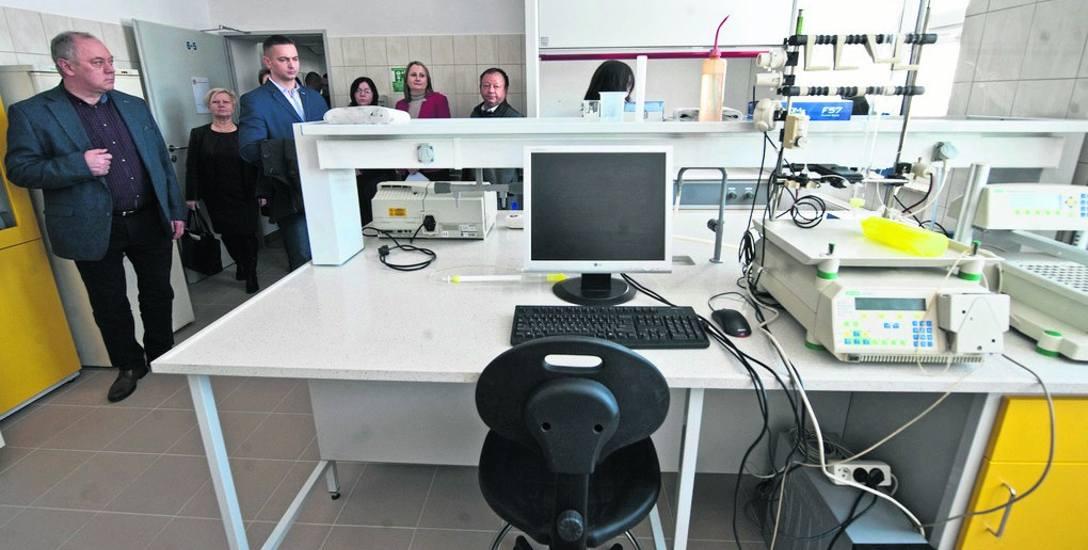 We wtorek zaprezentowano nowe pracownie. Cała inwestycja kosztowała ponad 4 miliony złotych, z dofinansowania z Ministerstwa Nauki i Szkolnictwa Wyż