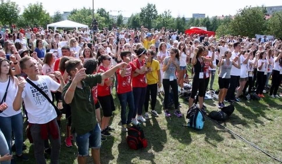 Film do artykułu: Światowe Dni Młodzieży. Festiwal Narodów w Łomży (zdjęcia, wideo)