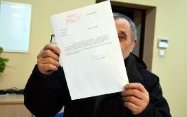 Andrzej Popławski od dłuższego czasu kontaktuje się z wójtem gminy Zduny jedynie listownie