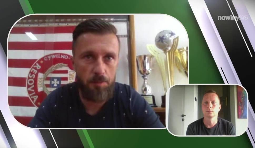 Film do artykułu: Szymon Grabowski, trener Apklan Resovii: Gdyby trybun nie było za nami, to derby mogły potoczyć się inaczej [STADION]