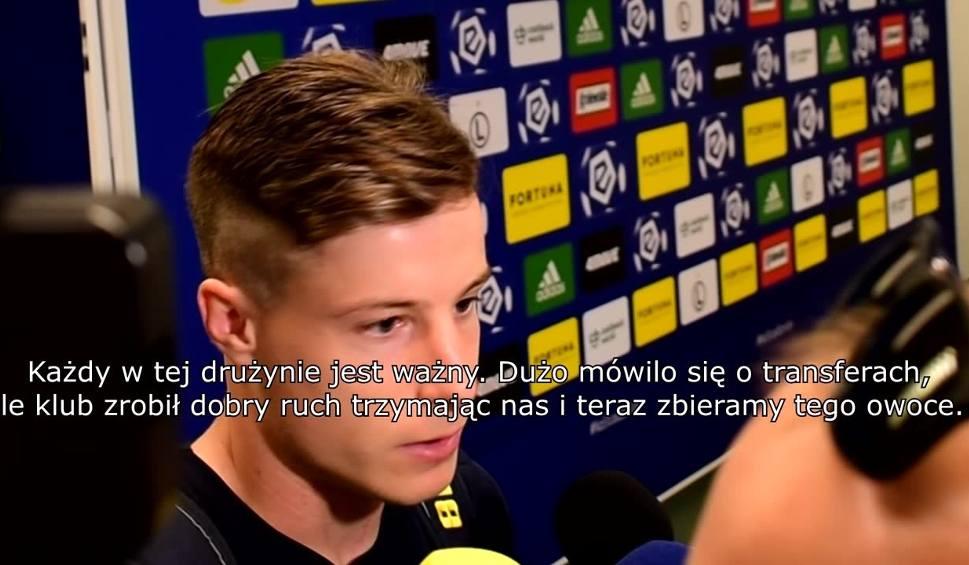 Film do artykułu: Zvonimir Kozulj po meczu Legia - Pogoń: Nowi zawodnicy pokazali jakość