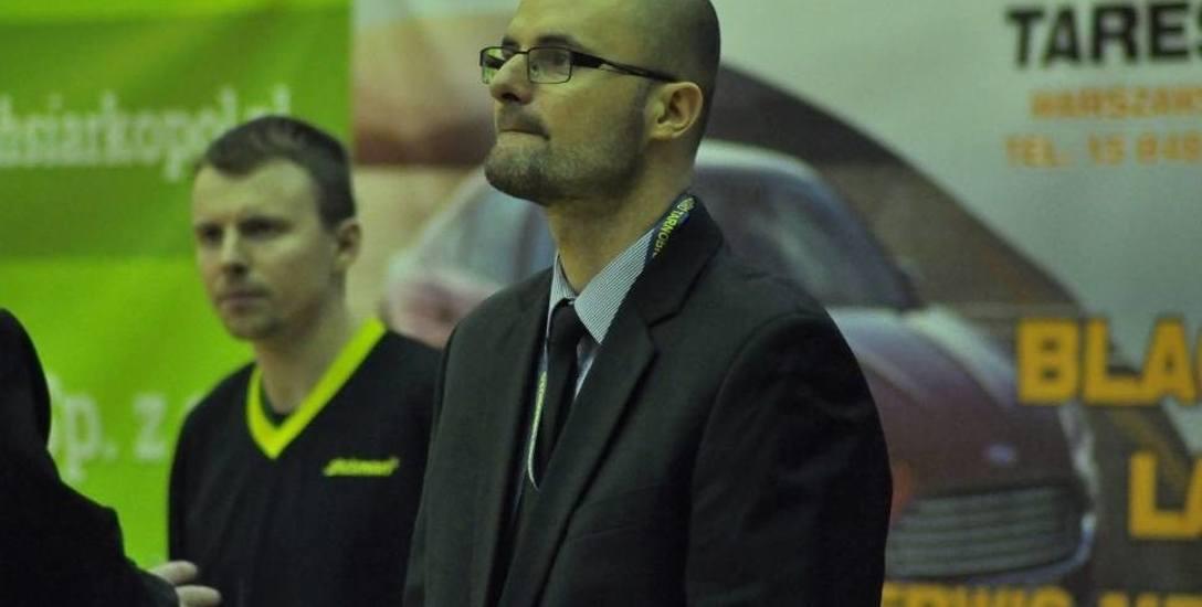 Koszykarze Siarki Tarnobrzeg będą prowadzeni przez Arkadiusza Papkę.