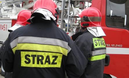 Kobieta zginęła w pożarze domu w Choczewie