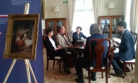 Obraz zrabowany przez Niemców wrócił do Polski. Dzieło sztuki zwrócił wnuk niemieckiego oficera