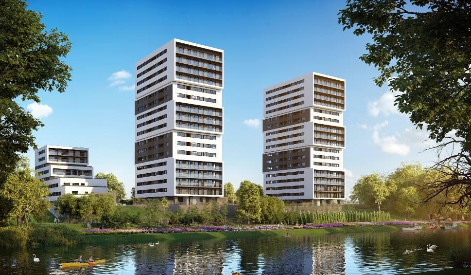 Film do artykułu: Dwa wieżowce nad Brdą w Bydgoszczy. Startuje projekt Aura Towers