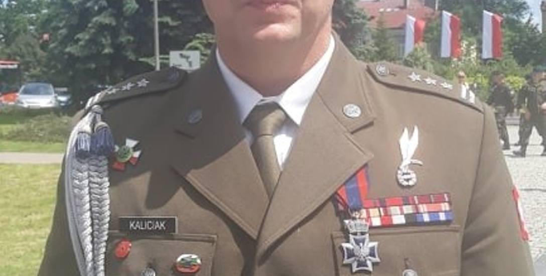 Szabla honorowa należy się też moim żołnierzom. Rozmowa z płk. Grzegorzem Kaliciakiem