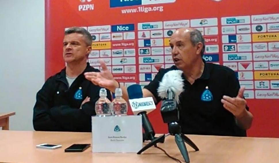 Film do artykułu: Trener Ruchu po meczu z Puszczą: Szanuję sędziów, bo to trudna praca