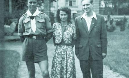 Bohdan ze swoją pierwszą miłością Inką i Olafem Jankowskim