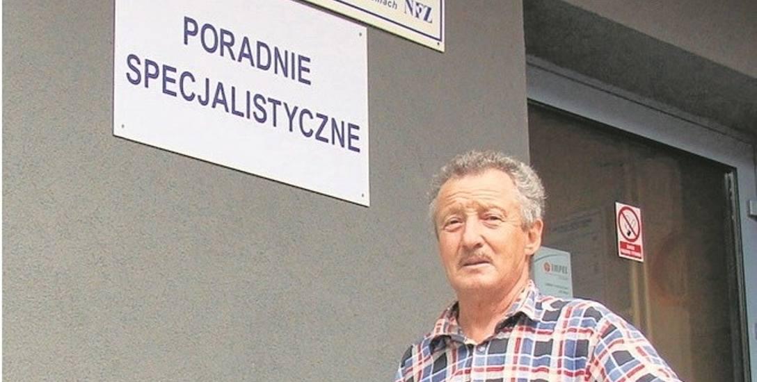 Stefan Cetnar chciałby, by nocna opieka była w szpitalu