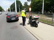 Pijany motocyklista powiedział policjantom, że pije od tygodnia, bo... lubi!