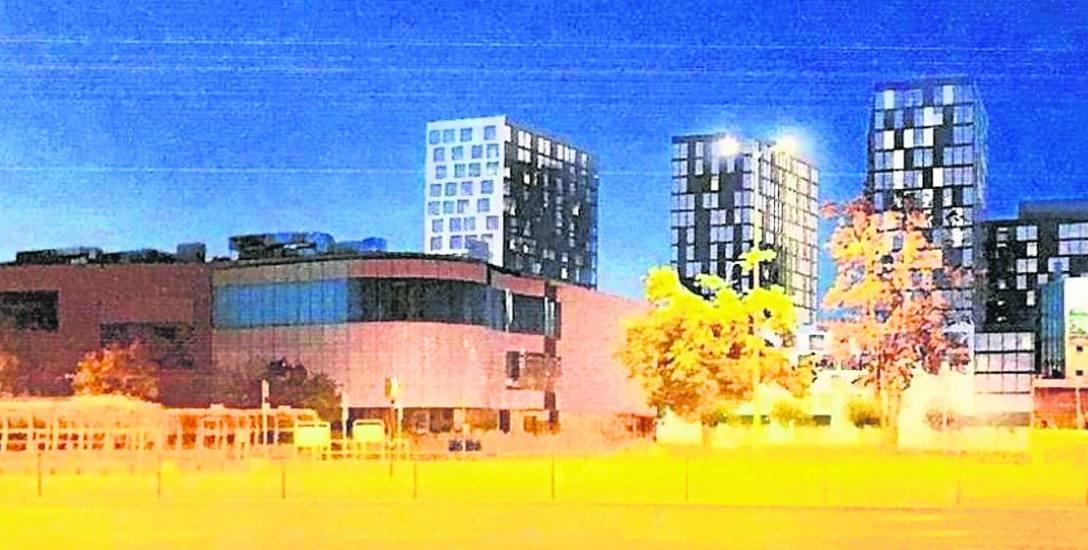 Takie, ąż 16-piętrowe bloki proponowała firma BD Art. Urbaniści ostudzili te zapędy schodząc do 8 pięter.
