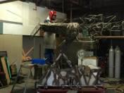 Pomnik jednorożca dla Łodzi powstaje w Japonii. Tworzy go Tomohiro Inaba [TYLKO U NAS PIERWSZE ZDJĘCIA POMNIKA!]