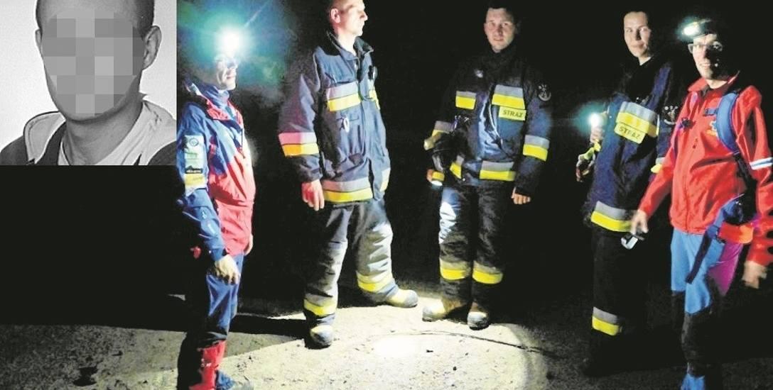 Nocne poszukiwania zaginionego Bartłomieja W. To najpewniej jego ciało znaleziono w Mostkach