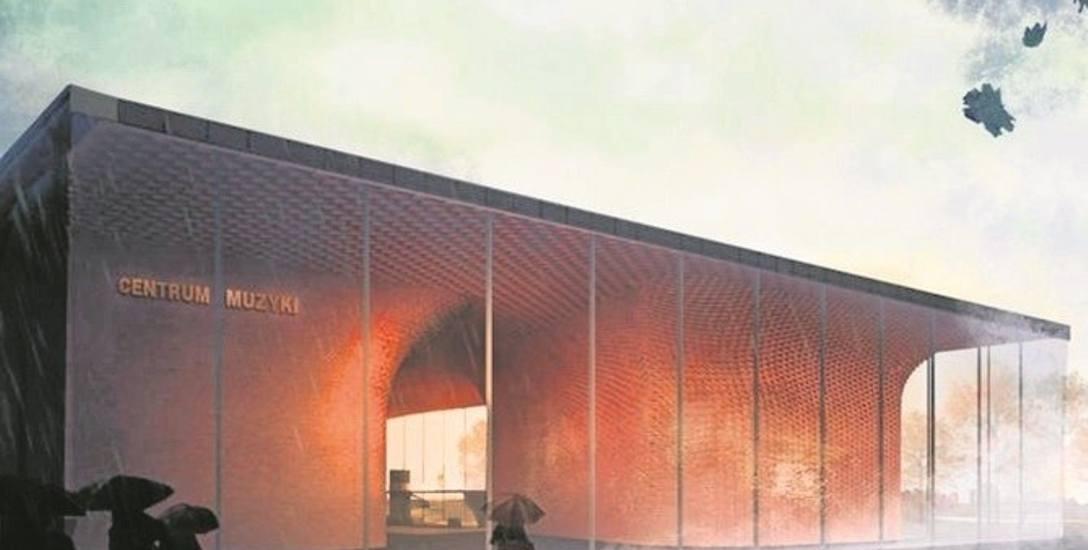 Centrum Muzyki mieścić będzie m.in. trzy sale koncertowe