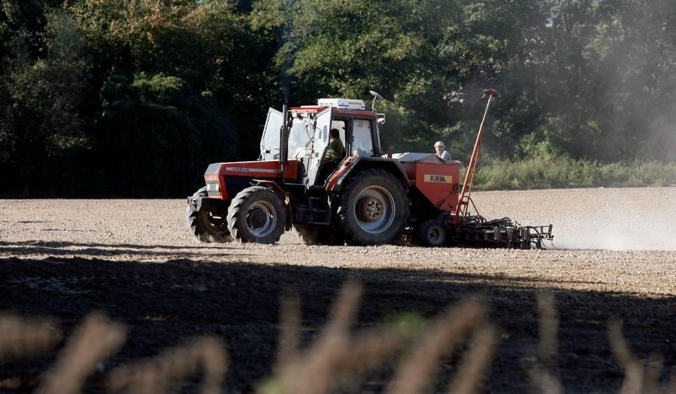 Film do artykułu: Wypadek przy pracach polowych w gminie Ręczno. 10-letni chłopiec wpadł pod brony maszyny polowej