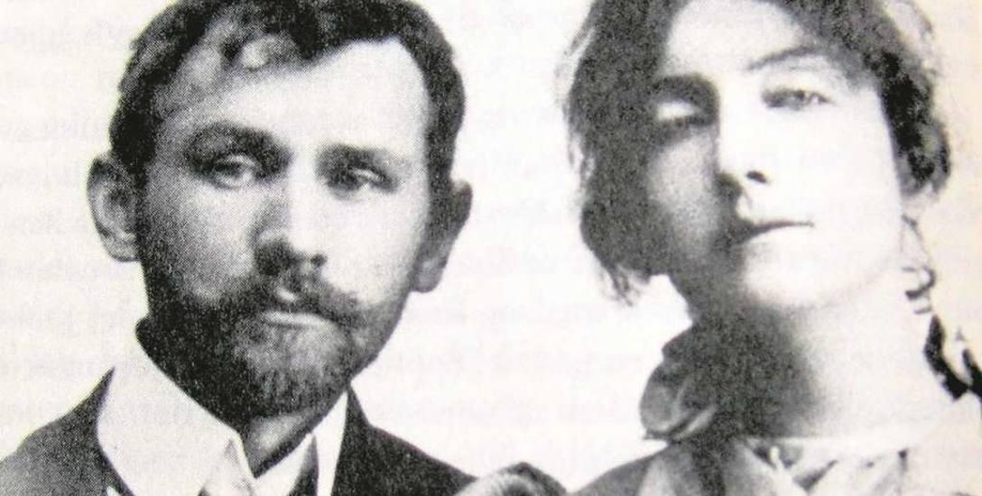 Stanisław Przybyszewski i jego żona Dagny Juel