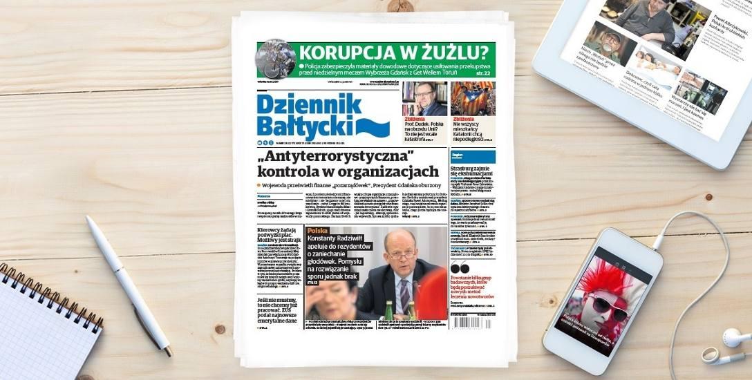 O czym piszemy we wtorek, 10 października na plus.dziennikbaltycki.pl