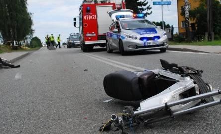 14-latek poważnie ranny w wypadku. Jego stan jest ciężki