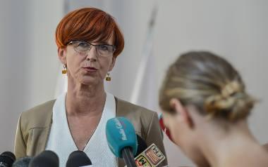 Elżbieta Rafalska mówiła m.in. o programie 500 plus