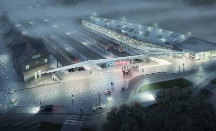 Zobacz jak będzie wyglądał dworzec w Zakopanem [WIZUALIZACJA]