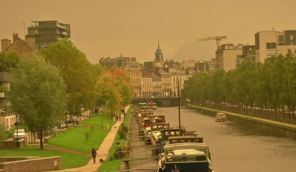 Film do artykułu: Saharyjski pył nad Europą. Wszystko przez Ophelię WIDEO