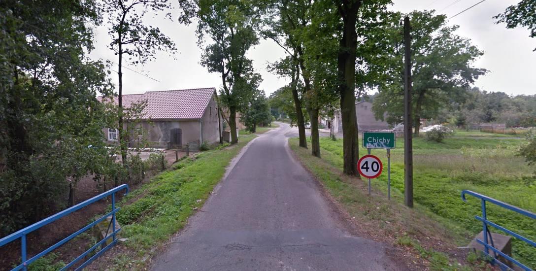 Chichy w gminie Małomice to niewielka miejscowość. Do tragedii doszło tu prawdopodobnie w czwartek, 31 sierpnia.