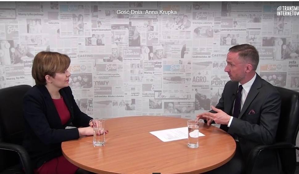 Film do artykułu: Gość Dnia. Poseł Anna Krupka przygotuje PiS na wybory