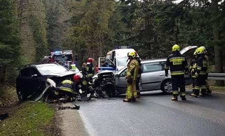 Wypadek na drodze do Morskiego Oka. Droga jest już przejezdna. ZDJĘCIA