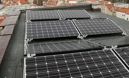 Solary w Poddębicach wyprodukują prąd za 40 tys. zł rocznie
