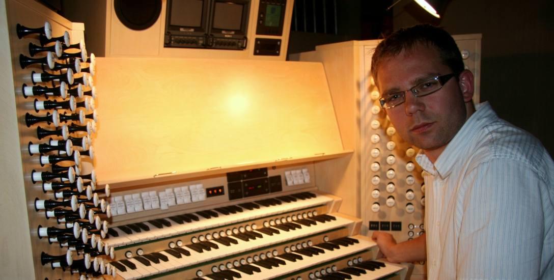 Gedymin Grubba, organista, improwizator, dyrygent, jego dorobek kompozytorski obejmuje twórczość od utworów solowych po wielkie formy symfoniczne