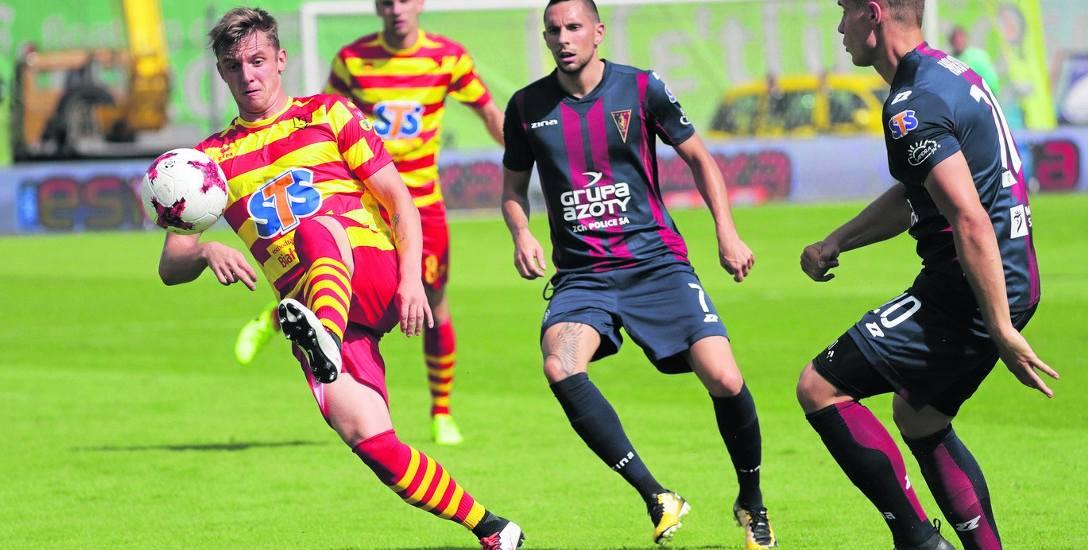 W meczu z pierwszej rundy Jagiellonia w Szczecinie wygrała z Pogonią 1:0