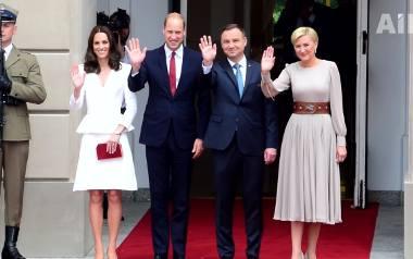 Królewskie prezenty dla  rodziny książęcej