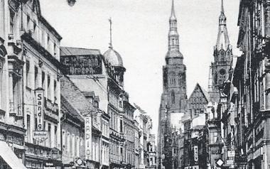 Legnica, ul. Frauenstrasse w latach 30. ubiegłego wieku. Dziś ulica Najświętszej Marii Panny