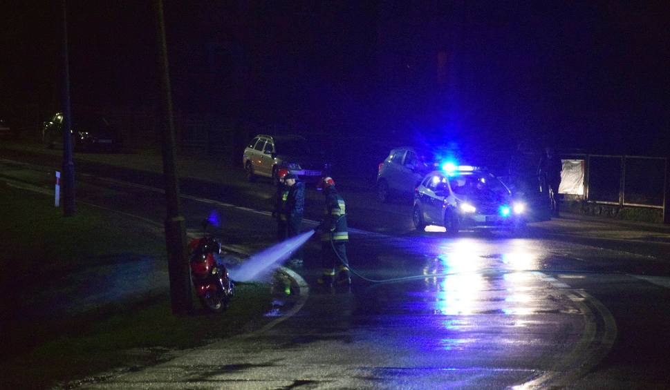 Film do artykułu: W Miastku zginęła motorowerzystka potrącona przez samochód ciężarowy (wideo ,zdjęcia)