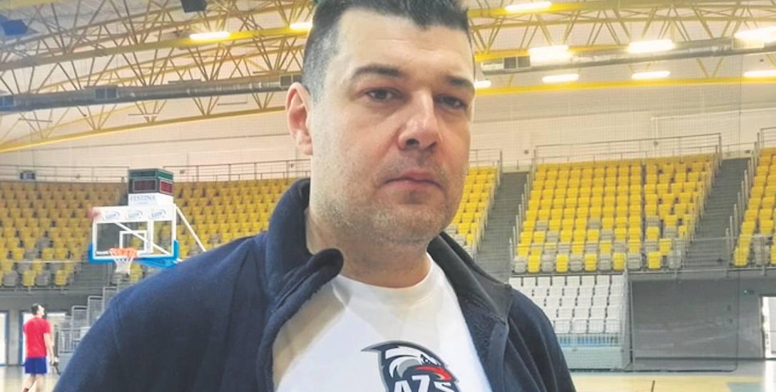 Nowy trener AZS Koszalin, Dragan Nikolić: stawiam na obronę